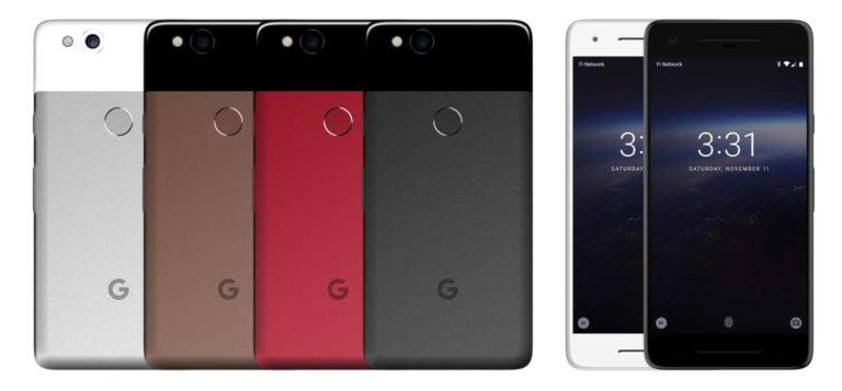 Nuovi rendering di Google Pixel 2 trapelato in immagini ad alta risoluzione