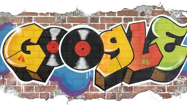 Google celebra la storia dell' Hip Hop con un Doodle epico