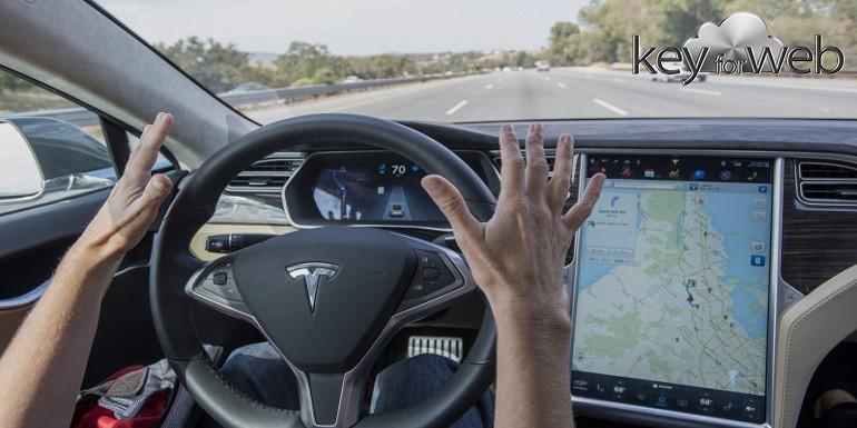 Auto a guida autonoma ormai sicure? No, basta un adesivo per mandarle in tilt