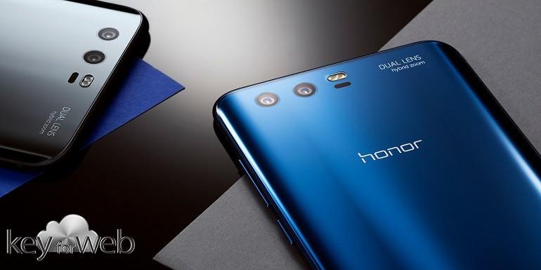 Honor 9 si colora di una nuova variante: Robin Blue