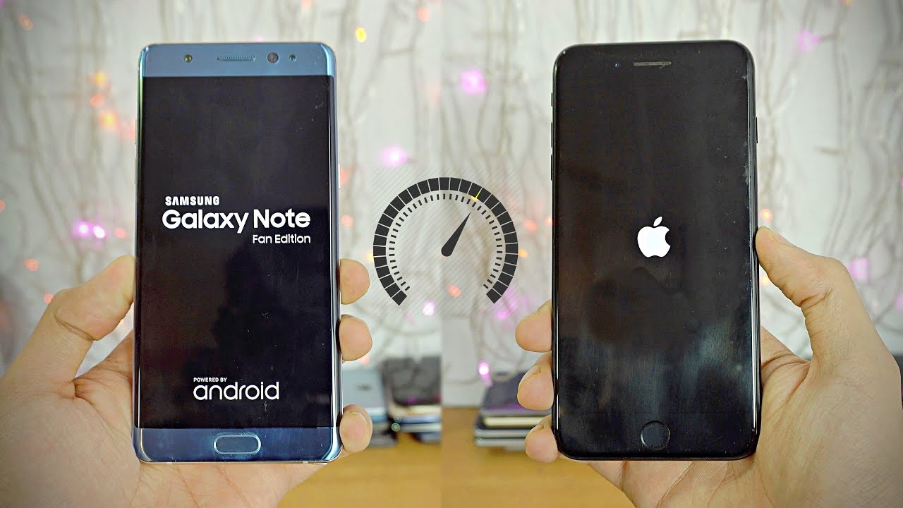 Samsung Galaxy Note FE vs iPhone 7 Plus, il Note 7 torna in competizione