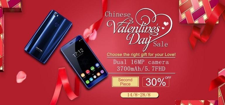 Oukitel Love you: U11 Plus scontatissimo per il San Valentino cinese
