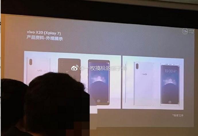 Vivo XPlay 7 esce fuori: Galaxy S8 e iPhone 8 si fondono, ecco il lettore di impronte a schermo