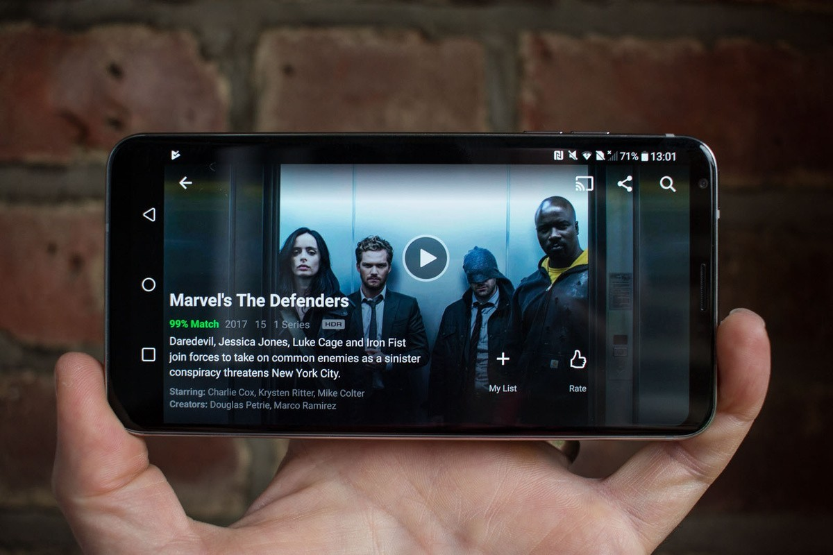 Netflix HDR finalmente anche su Infinity Display di Galaxy Note 8
