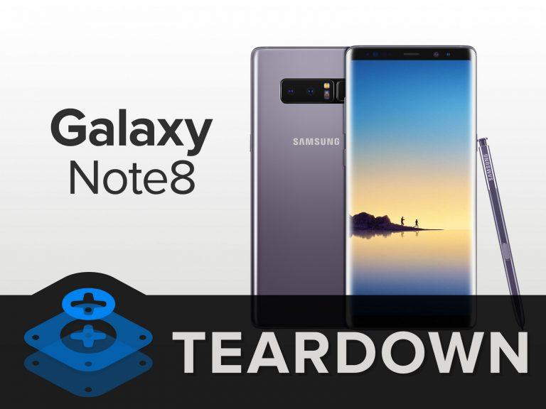 Pessimi risultati anche per il teardown Galaxy Note 8 svolto dal team di iFixit