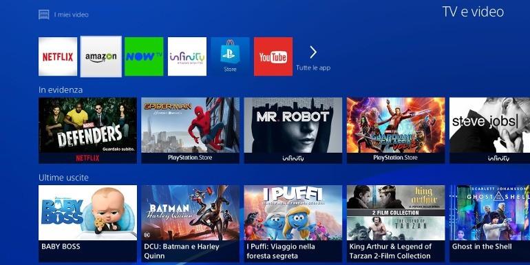 Amazon Prime Video sbarca su PlayStation 4 e PS3