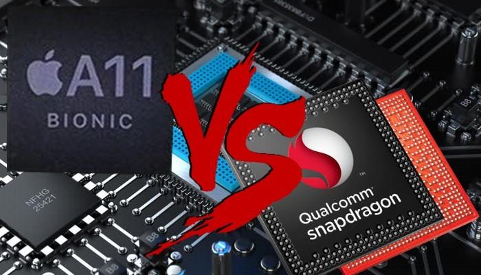 Il processore Apple A11 di iPhone 8 ed iPhone X è mostruoso, nemmeno Samsung Galaxy S9 riuscirà a fare di meglio?