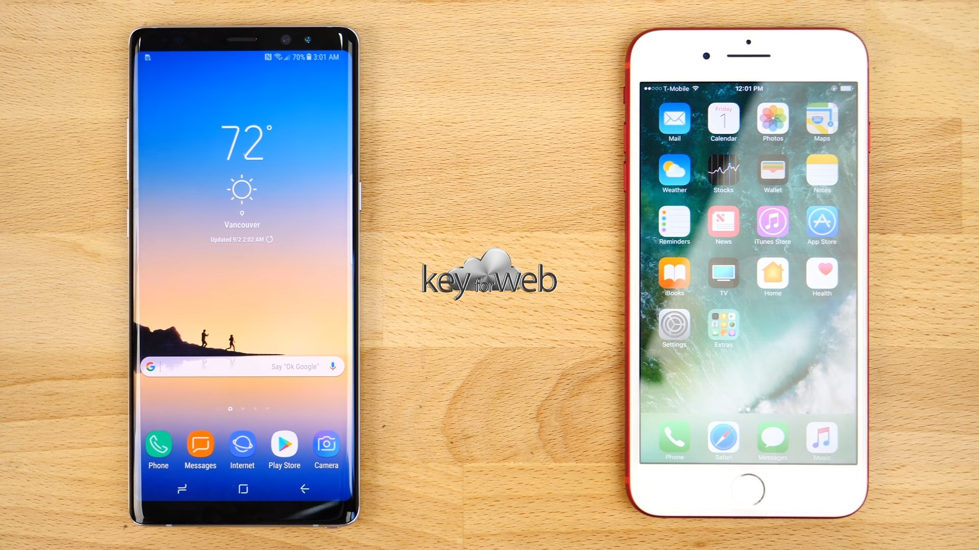 Apple iPhone 7 Plus vs Samsung Galaxy Note 8