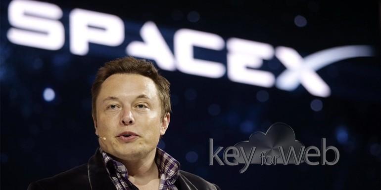 Elon Musk pubblica le immagini del Falcon Heavy