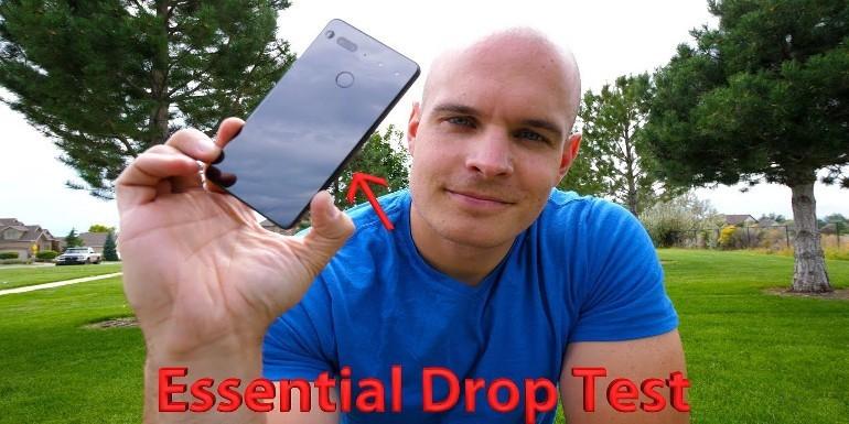 Drop Test Essential Phone: Titanio e Ceramica non sono poi così resistenti