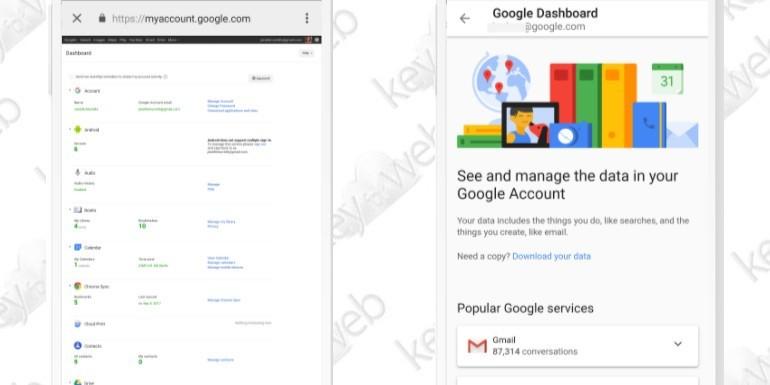 Google ridisegna Dashboard per un'esperienza d'uso ancora più semplice