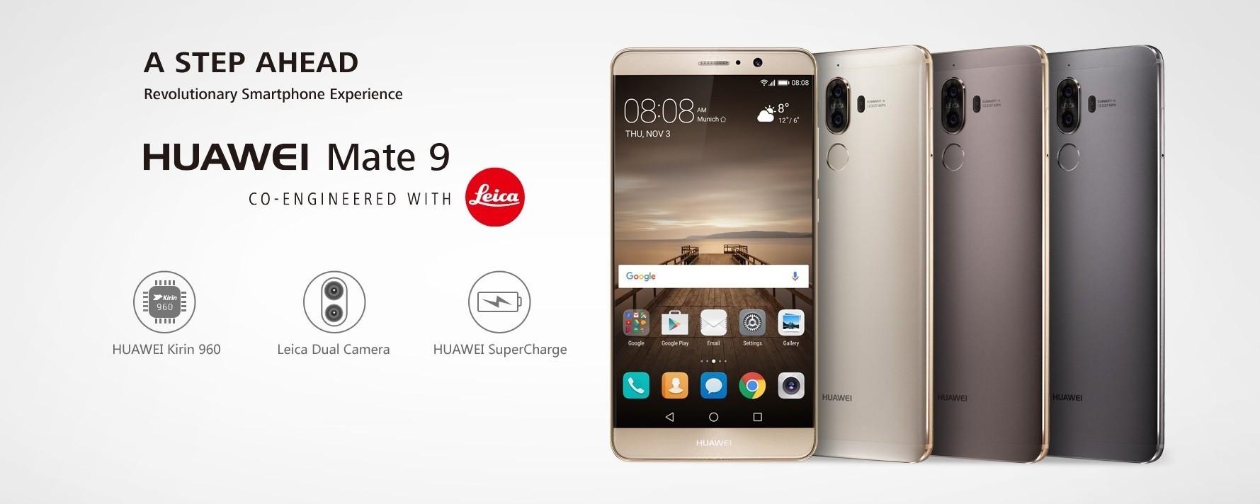 Huawei valuta fino a 500 euro il vostro vecchio smartphone per l'acquisto di Mate 9