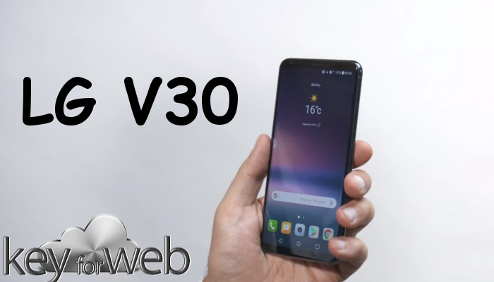 LG V30 Raspberry Rose arriva in occasione del CES 2018