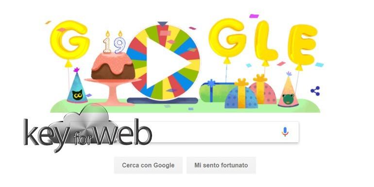 la ruota della fortuna per il compleanno di google ecco