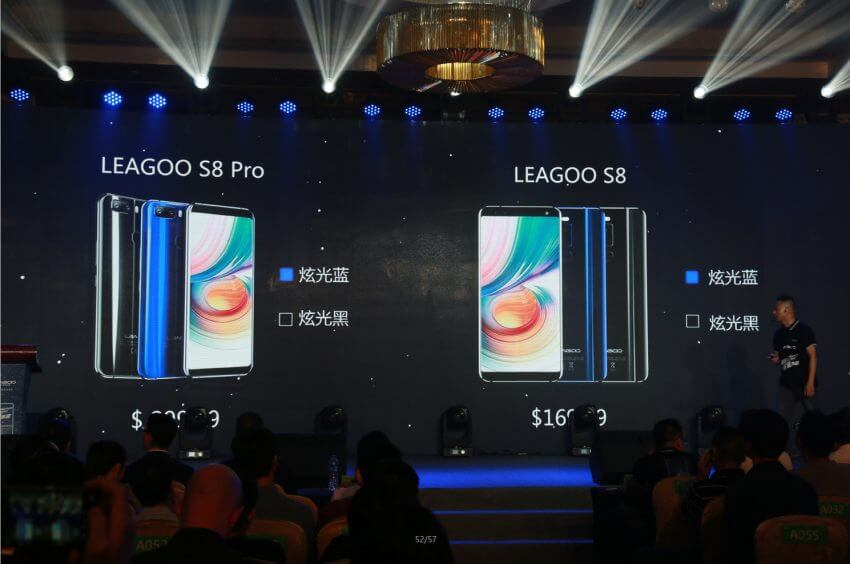 Leagoo ha annunciato i nuovi Leagoo S8 e S8 Pro