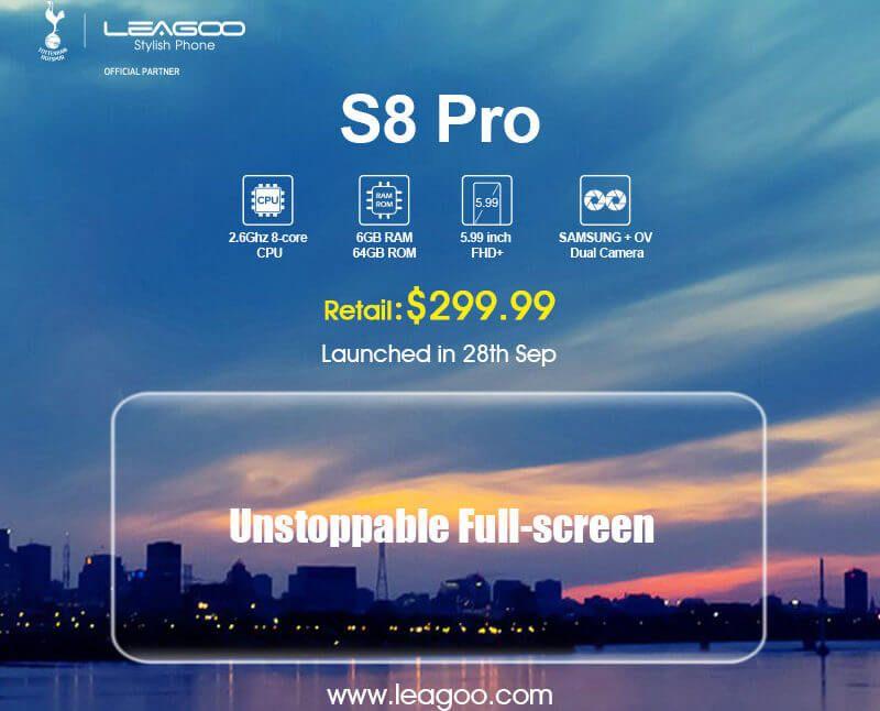 Leagoo S8 Pro - prezzo 299.99$