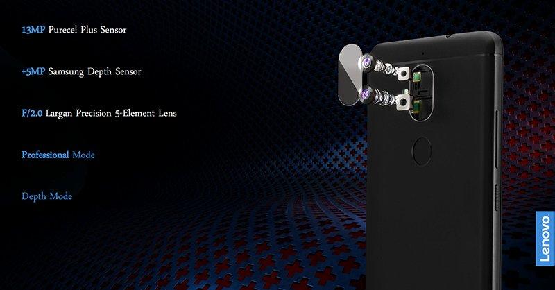 Lenovo K8 Plus - doppia fotocamera