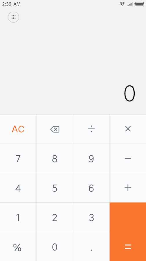 Xiaomi Mi Calculator disponibile per tutti sul Google Play Store