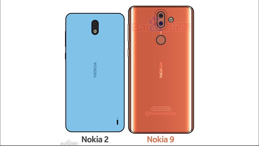 Nokia 2 vs Nokia 9