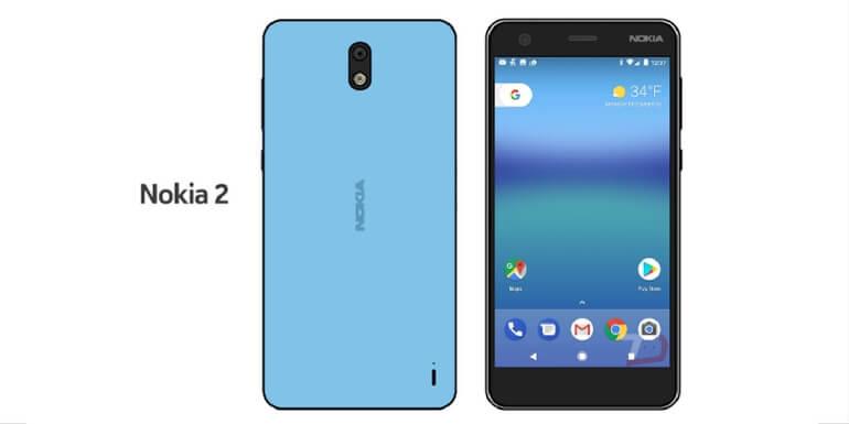 Nokia 2 sarà lo smartphone Android di HMD con la più grande batteria