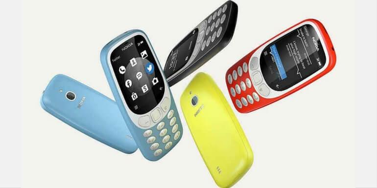 Nokia 3310 (2017) 3G in arrivo a metà ottobre a 69€