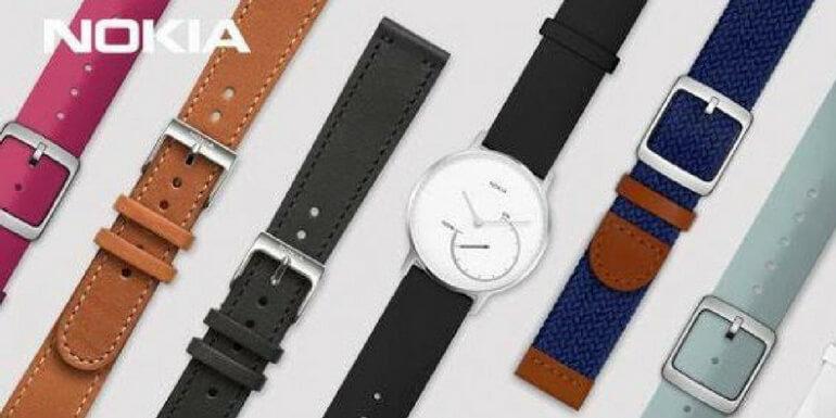 Nokia Steel: nuovi cinturini per un totale di 11 nuove colorazioni disponibili