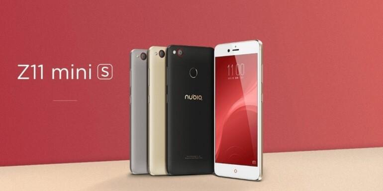 Nubia Z11 mini S riceve l'aggiornamento per la Nubia UI 2.03