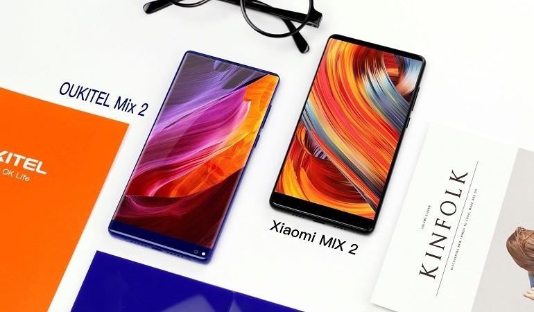 OUKITEL Mix 2 sfida Xiaomi Mi Mix 2 e da il via alla prevendita di OUKITEL K10000 Max
