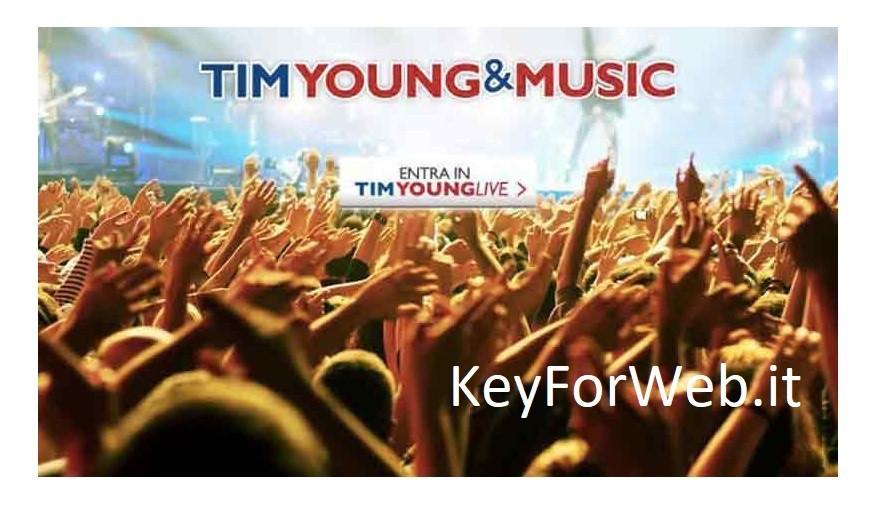 Che privilegi per chi passa a Tim Young and Music: 20 GB ed altre offerte per tutti a metà prezzo