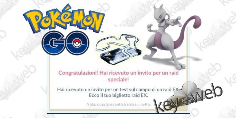 Pokémon GO, nuovo test Raid EX per sfidare Mewtwo in Italia il 20 ottobre 2017