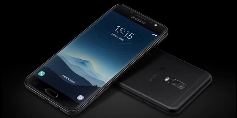 Samsung Galaxy C8 è ufficiale con doppia fotocamera posteriore