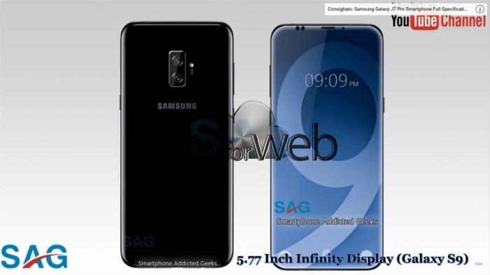 Samsung Galaxy S9 panoramica