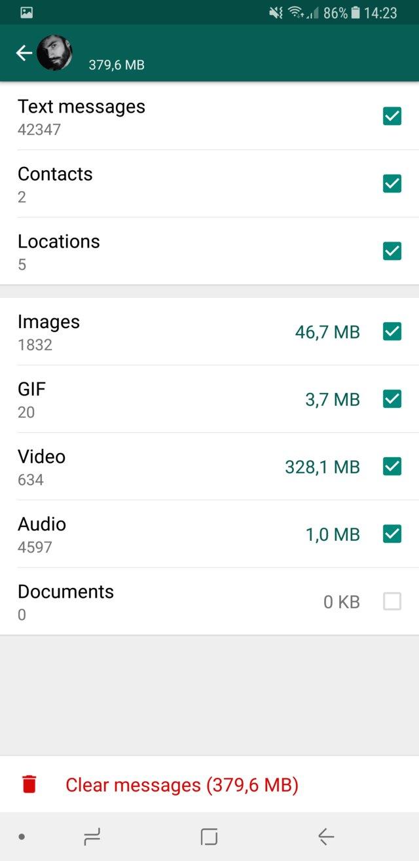 WhatsApp si aggiorna aiutandoci a risparmiare prezioso spazio sullo smartphone