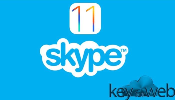 Microsoft sta preparando un nuovo design per Skype su iOS