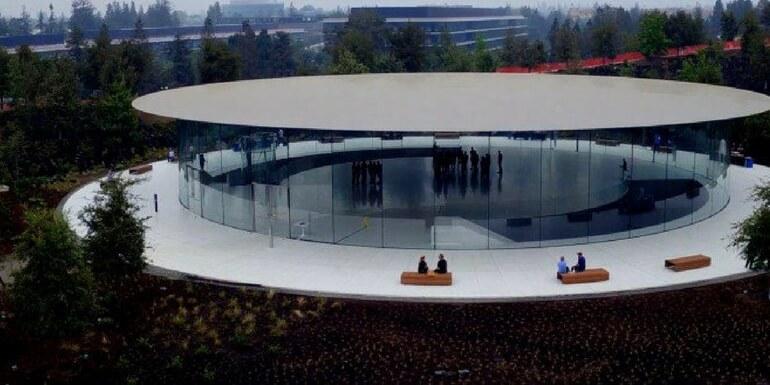 Apple Park: lo Steve Jobs Theater è pronto per iPhone 8