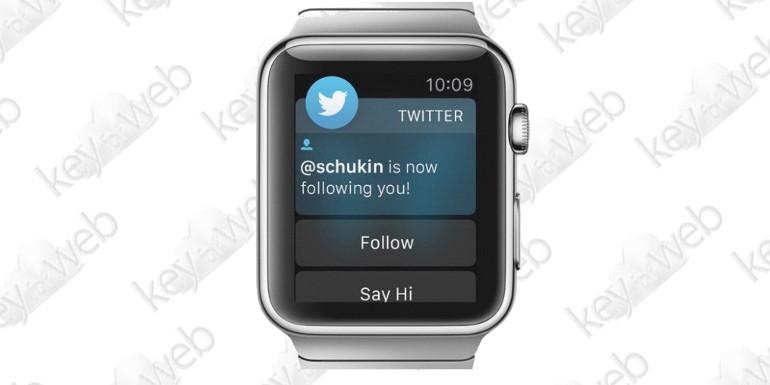 Twitter abbandona Apple Watch