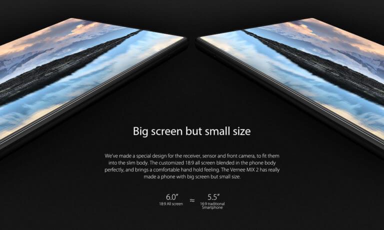 """Vernee MIX 2 è ufficiale: display da 6"""" FHD+ e SoC MediaTek Helio P25"""