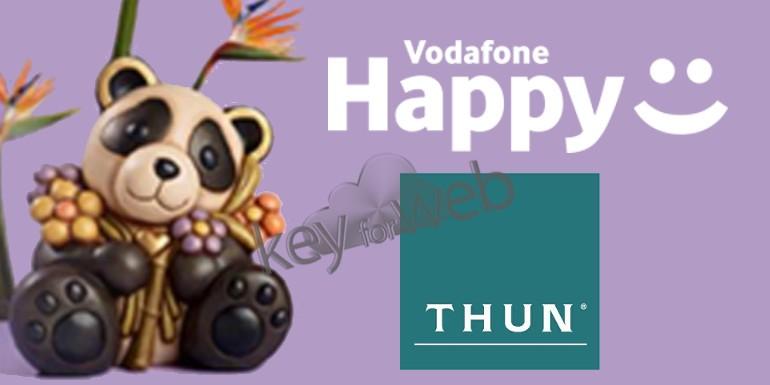Vodafone Happy Friday del 1 settembre 2017: buono sconto THUN