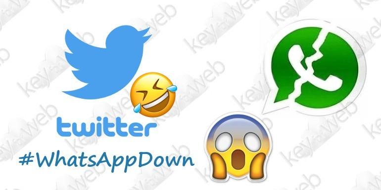 WhatsApp down del 22 settembre, i tweet più divertenti