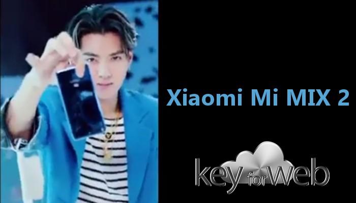 Lo splendido ed atteso Xiaomi Mi MIX 2 mostrato in due divertenti video teaser che lo svelano parzialmente