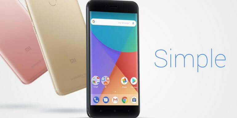 Xiaomi Mi A1 è ufficiale con Android stock a bordo