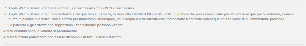 compatibilità apple watch 3