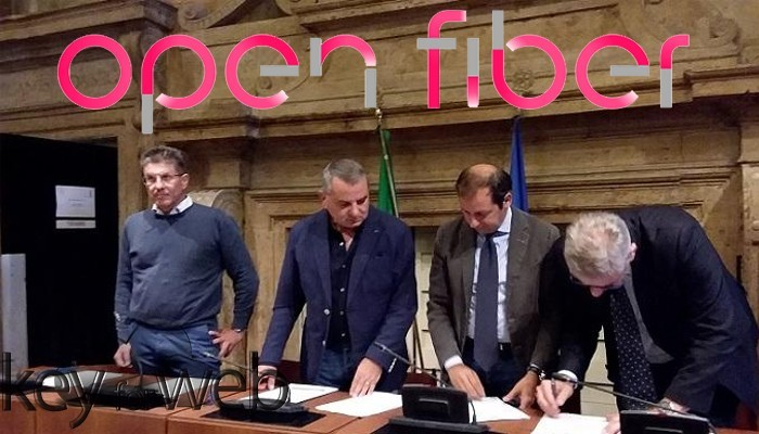 La fibra ottica di Open Fiber arriva a Terni, entro il 2019 connessioni fino a 1Gbps