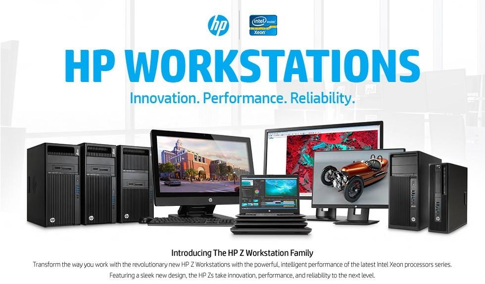 HP WorkStation serie Z: Intel Xeon fino a 56 Core e 3TB di memoria RAM