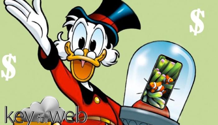 iPhone 8 (iPhone X) avrà un costo sproporzionato, 512GB di ROM al prezzo di 1200$, da capogiro il prezzo italiano