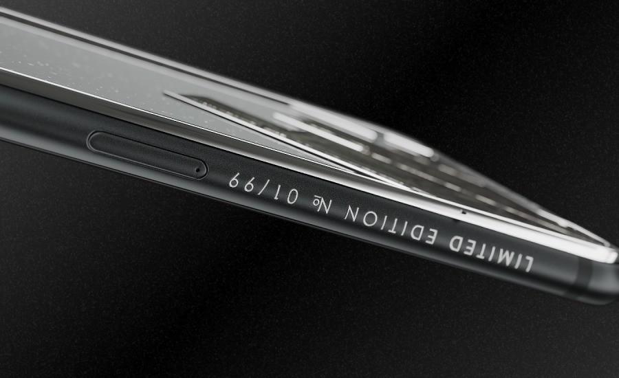 Un iPhone X realizzato completamente in titanio in preordine a 4500$