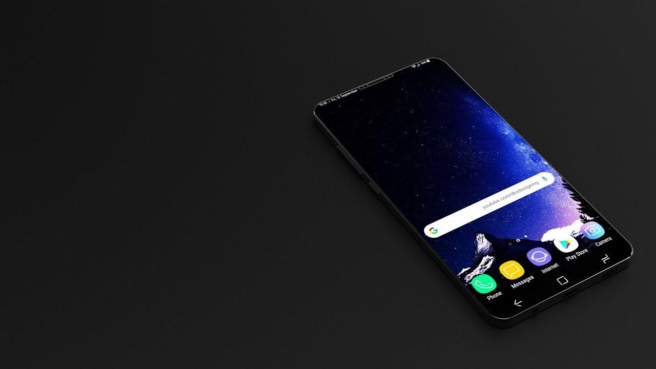 Samsung Galaxy S9 ha un Infinity display ancora più grande ed è ancora più potente nei nuovi render