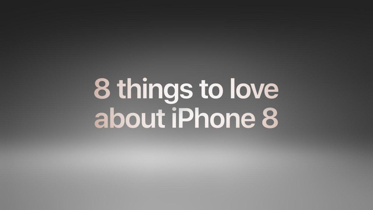 8 cose che amerete in iPhone 8 (secondo Apple!)