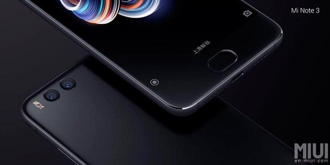 Xiaomi Mi Note 5 si farà: ecco i prezzi e la scheda tecnica