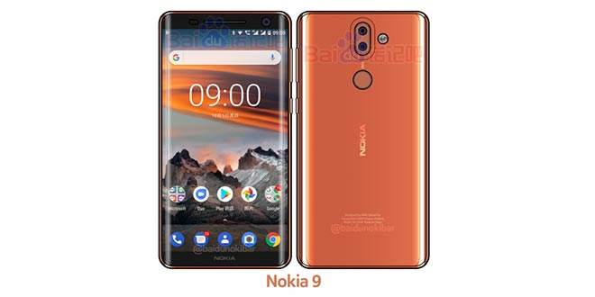 Nokia 9 si mostra in un render: nuovo smartphone bezel-less in arrivo?